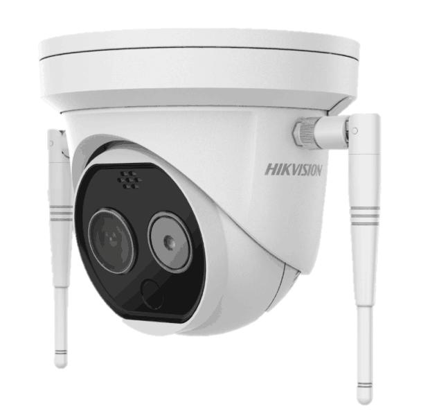 热成像半球型网络摄像机DS-2TD1217B-3/PA